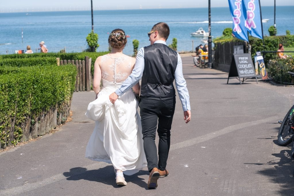 East Kent Wedding - Viking Bay, Broadstairs