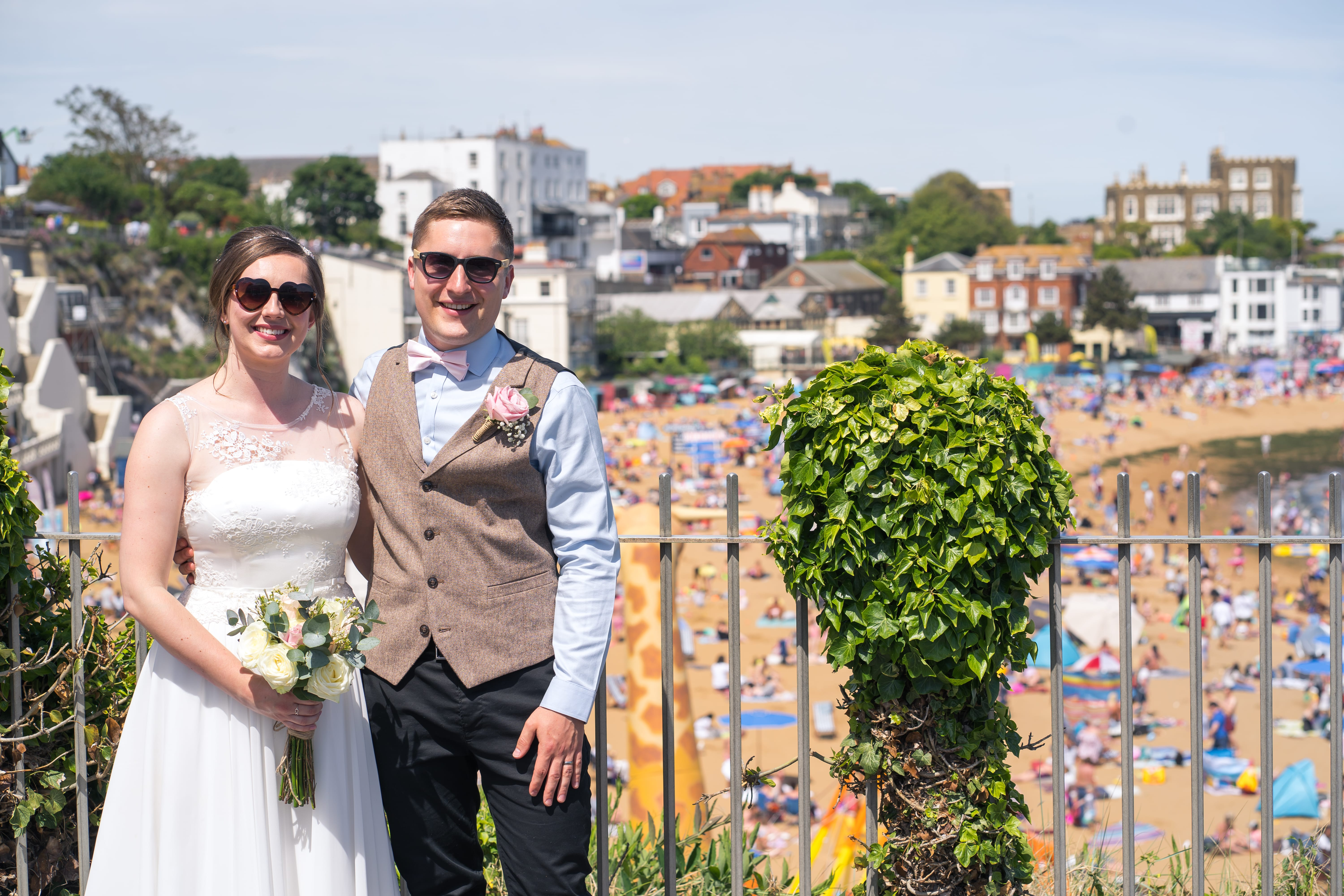 Documentary Wedding Photography - Broadstairs, Viking Bay