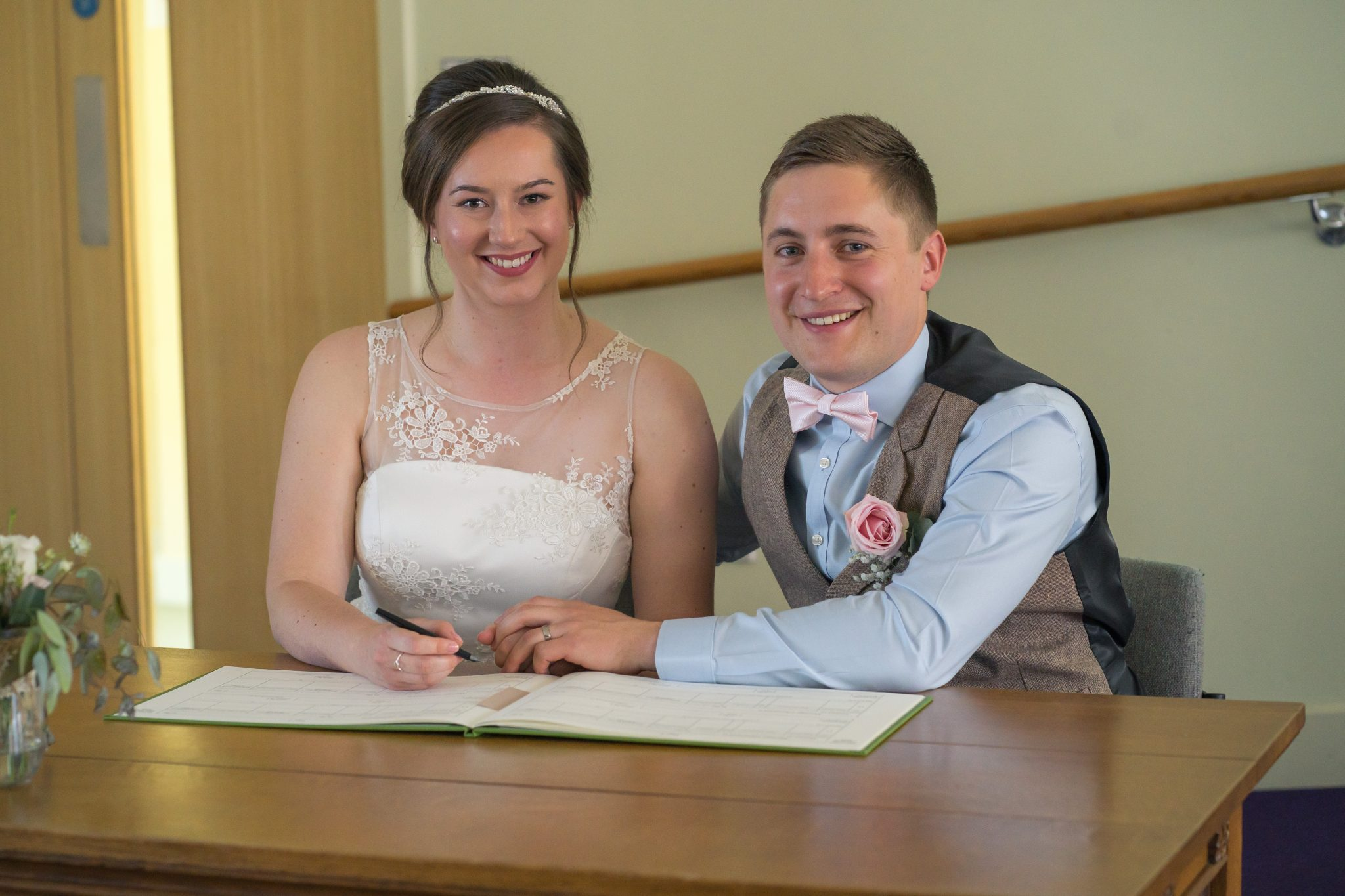 Documentary Wedding Photography - Signing the Register