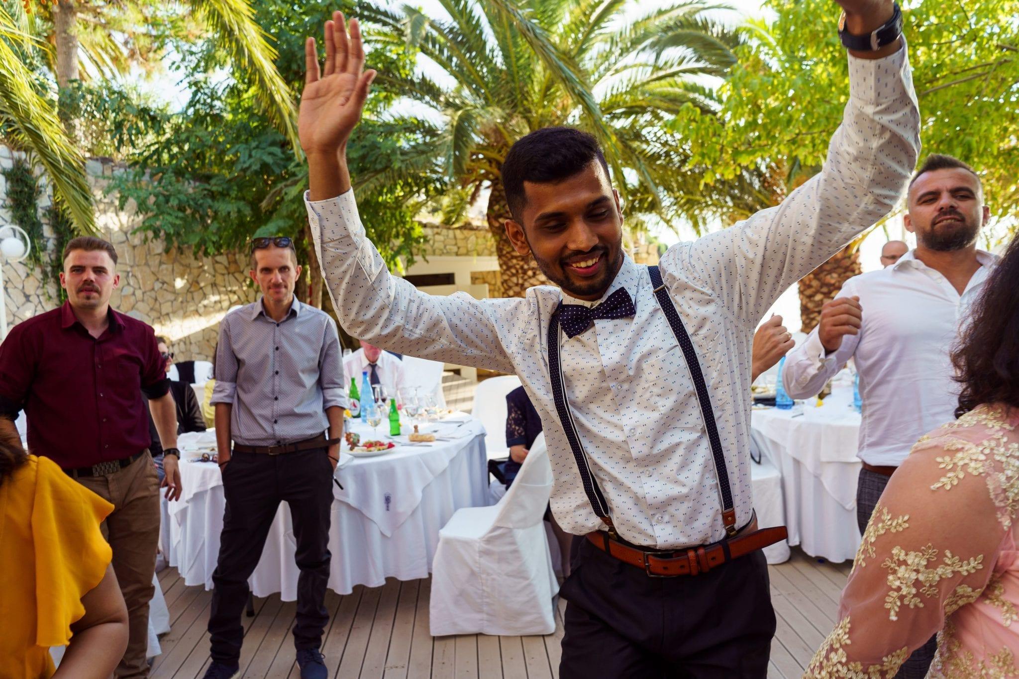 Documentary Wedding Photography - Dancefloor