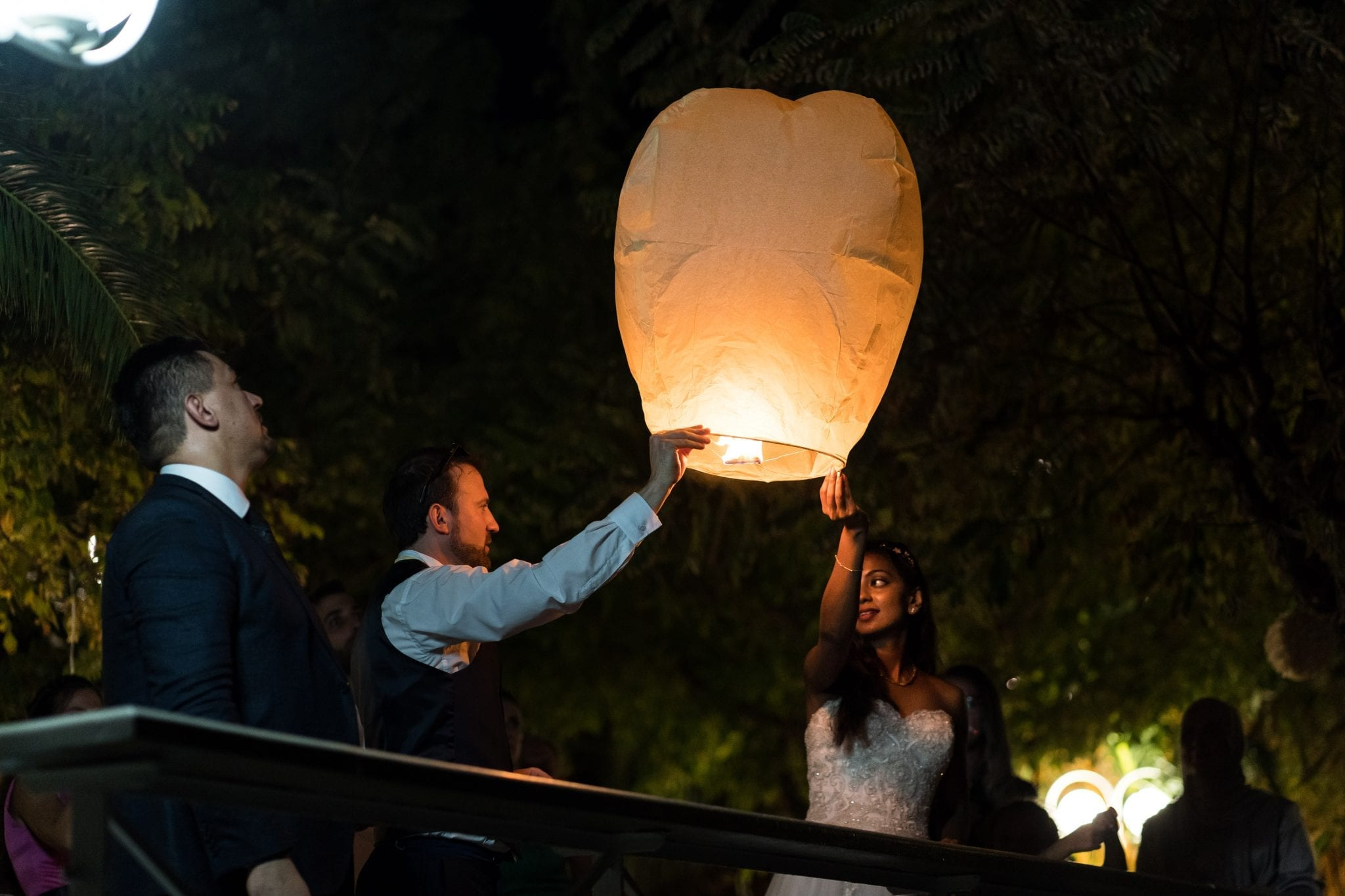 Documentary Wedding Photography - Chinese Lanterns