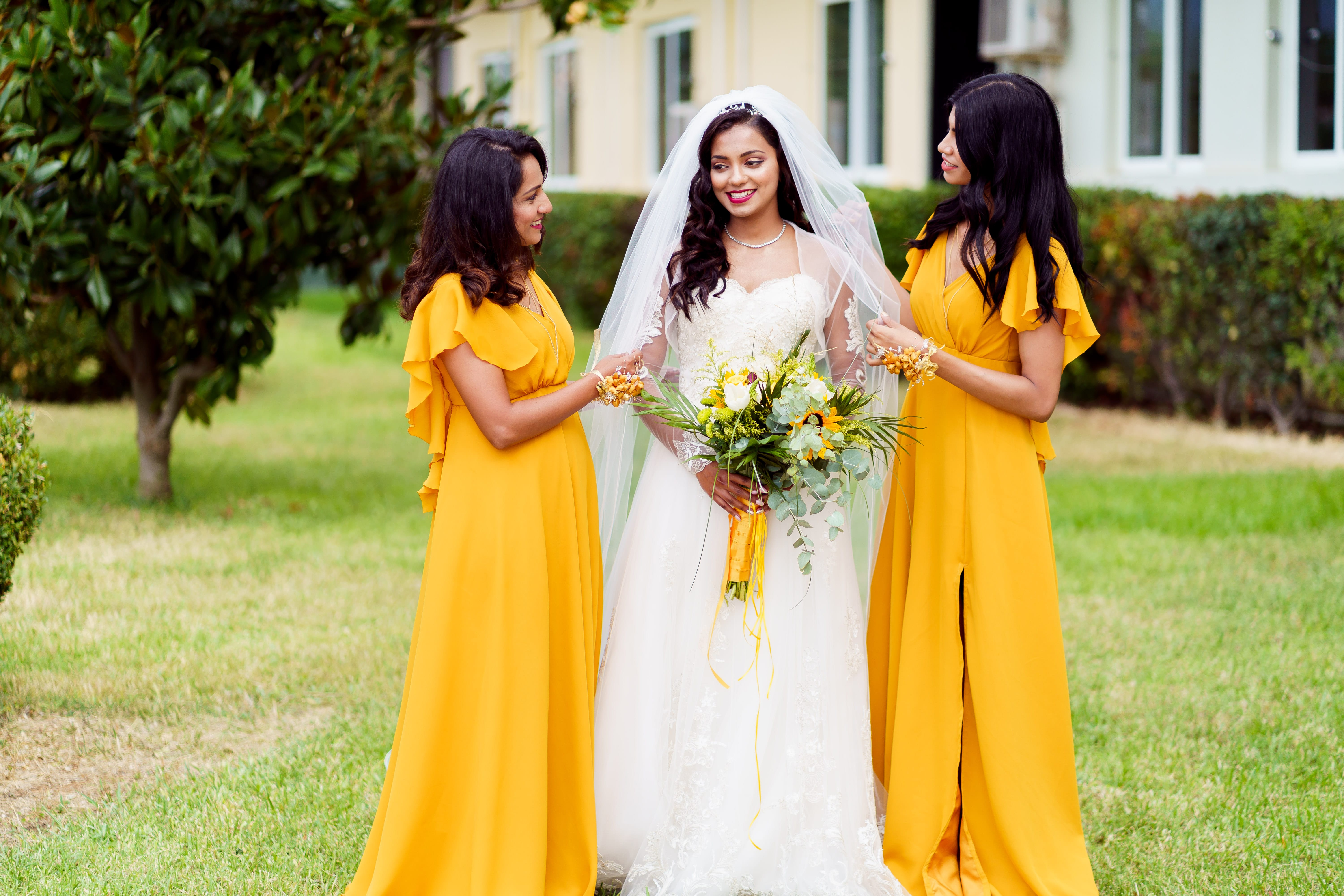 Documentary Wedding Photography - Bride & Bridesmaids