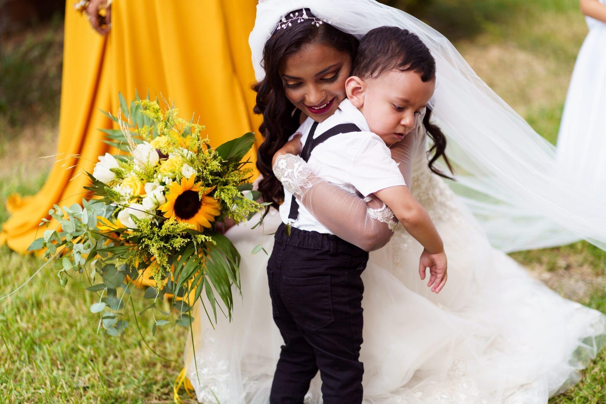 Documentary Wedding Photography - Hug