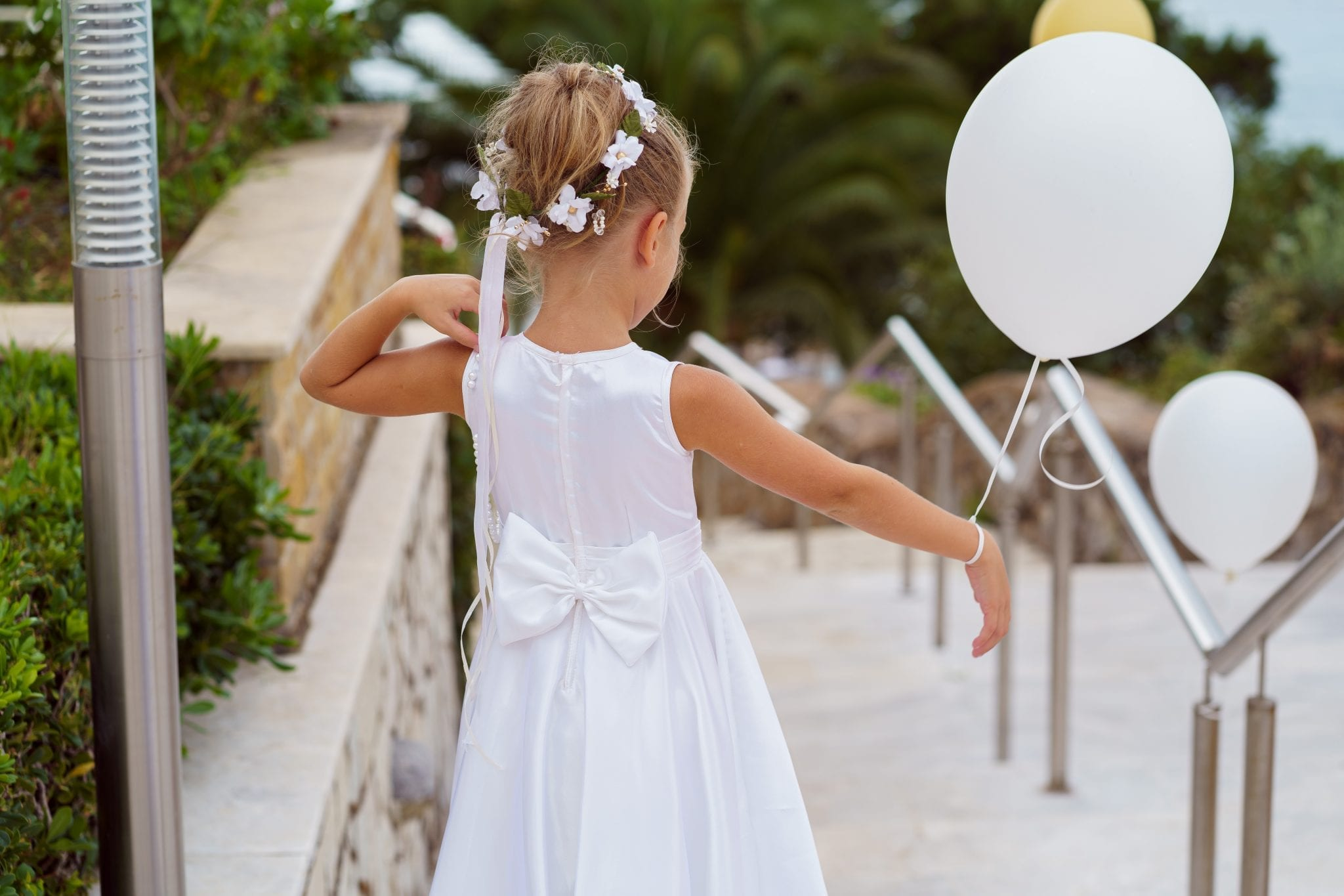 Documentary Wedding Photography - Child with Balloons