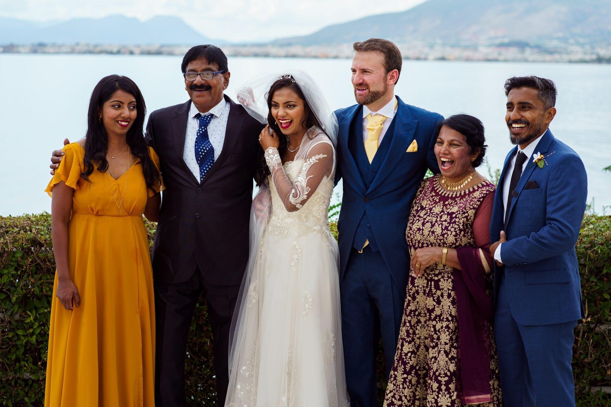Destination Wedding Photography - Family Portrait