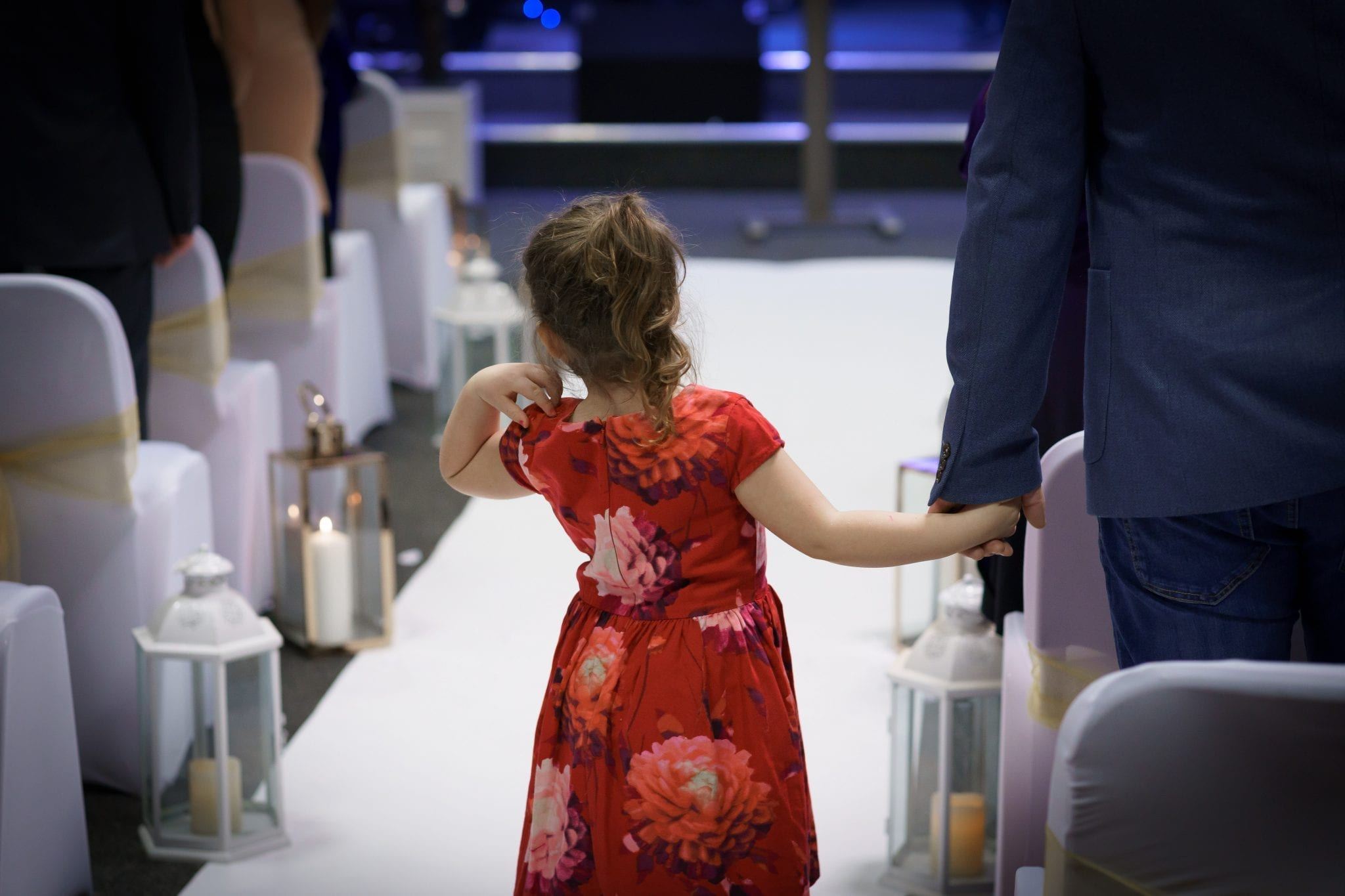 Documentary Wedding Photography - Curious Child