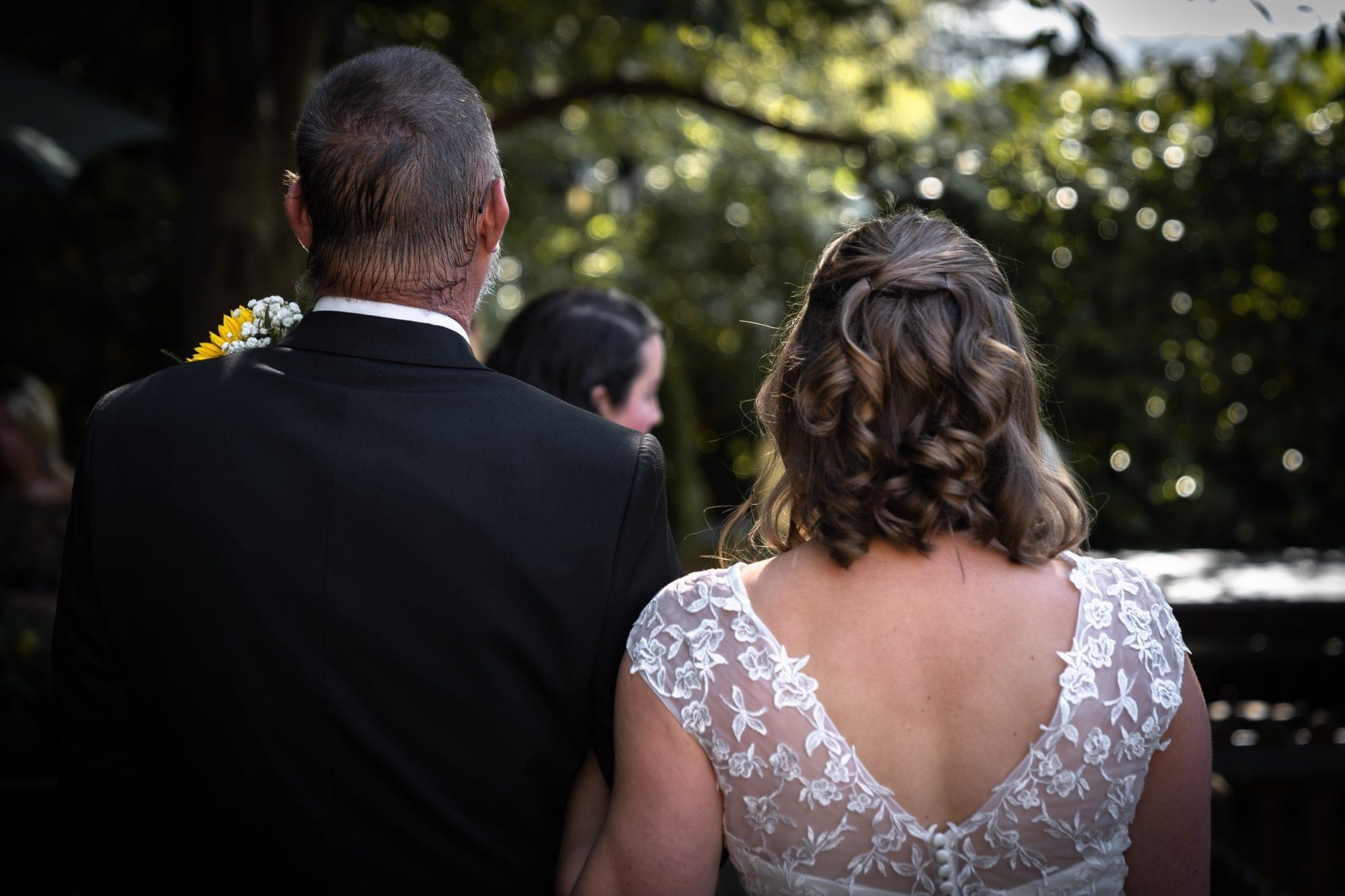 Documentary Wedding photography - Bride & Father